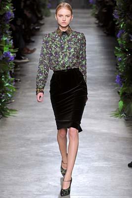 Givenchy F/W 2011 - Anabela Belikova