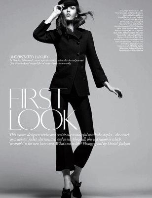 Vogue UK August 2010: Karlie Kloss