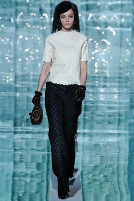 Marc Jacobs F/W 2011 - Jessica Stam