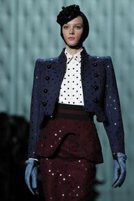 Marc Jacobs F/W 2011 - Sigrid Agren
