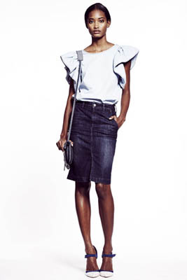 Gap S/S 2011 : Melodie Monrose