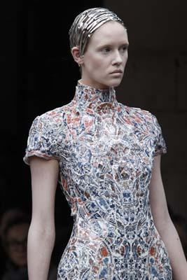 Alexander McQueen F/W 2011 - Marike Le Roux