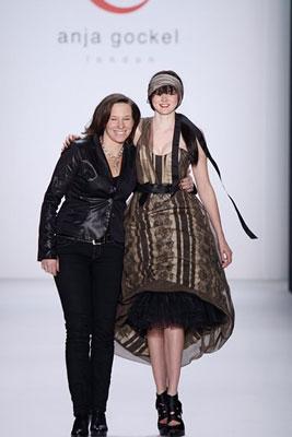Anja Gockel F/W 2011 - Lily Cole & Anja Gockel