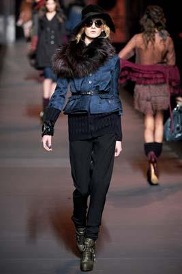 Christian Dior F/W 2011 - Daria Strokous