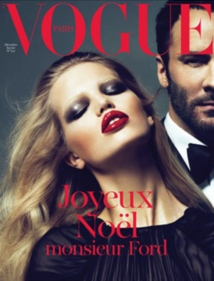 Vogue Paris Dec/Jan 2010 Daphne Groeneveld & Tom Ford