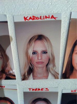 Hugo Boss F/W 2011 - Karolina Kurkova