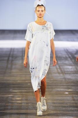 Alexander Wang S/S 2011 : Magdalena Frackowiak