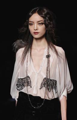 Christian Dior F/W 2011 - Fei Fei Sun
