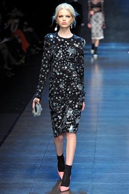 Dolce & Gabbana F/W 2011 - Daphne Groeneveld