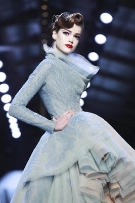 Christian Dior Haute Couture S/S 2011 - Julia Saner