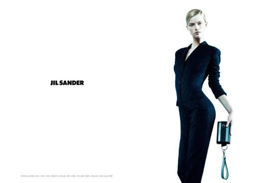 Jil Sander F/W 2010:Kasia Struss