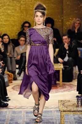 Chanel Paris-Byzance Pre Fall 2011 - Bambi Northwood-Blyth