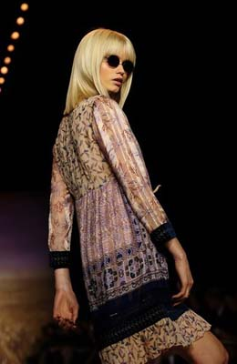 Anna Sui S/S 2011 : Abbey Lee