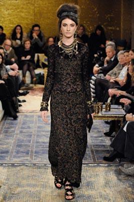 Chanel Paris-Byzance Pre Fall 2011 - Jacquelyn Jablonski