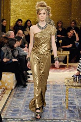Chanel Paris-Byzance Pre Fall 2011 - Mirte Maas