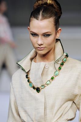 Oscar de la Renta S/S 2011 : Karlie Kloss