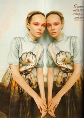 Vogue UK December 2010