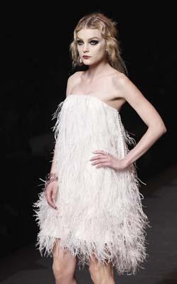Christian Dior F/W 2011 - Jessica Stam