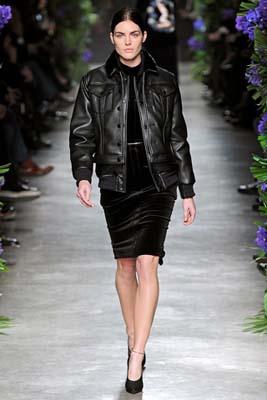 Givenchy F/W 2011 - Hilary Rhoda
