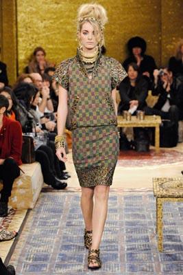 Chanel Paris-Byzance Pre Fall 2011 - Denisa Dvorakova