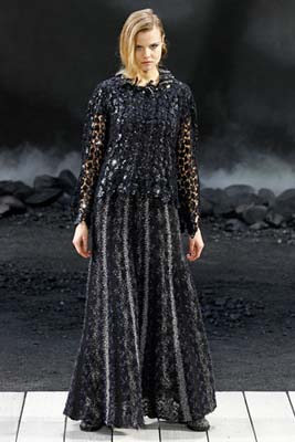 Chanel F/W 2011 - Magdalena Frackowiak