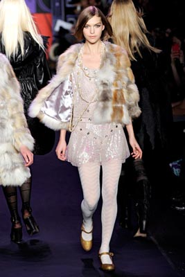 Anna Sui F/W 2011 - Arizona Muse