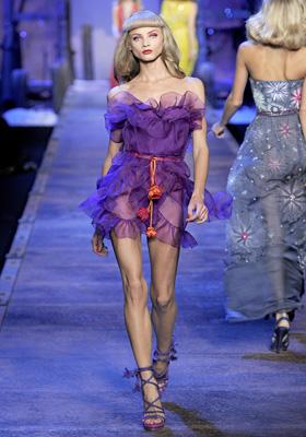 Christian Dior S/S 2011 : Anna Selezneva
