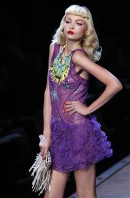 Christian Dior S/S 2011 : Siri Tollerod