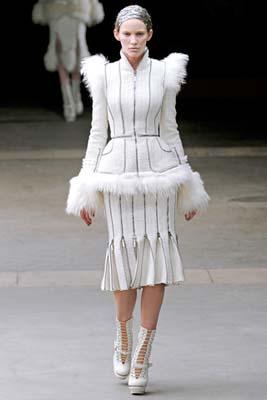 Alexander McQueen F/W 2011 - Emily Baker