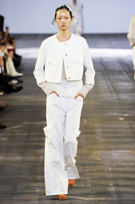 Alexander Wang S/S 2011 : Fei Fei Sun