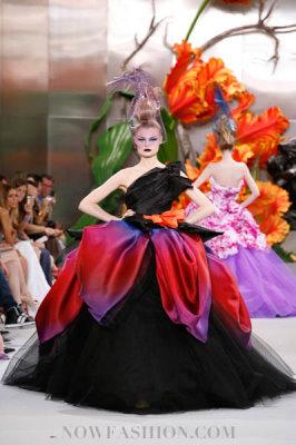 Christian Dior Haute Couture F/W 2010:Magdalena Frackowiak