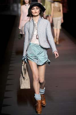 Christian Dior F/W 2011 - Iekeliene Stange