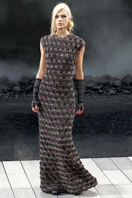Chanel F/W 2011 - Aline Weber