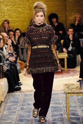 Chanel Paris-Byzance Pre Fall 2011 - Barbara Palvin