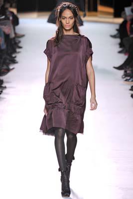 Nina Ricci F/W 2011 - Joan Smalls