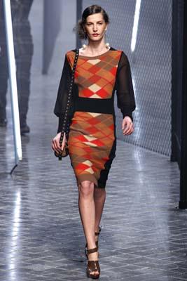 Sonia Rykiel F/W 2011 - Diana Dondoe