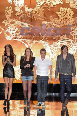 Colcci F/W 2011 - Alessandra Ambrosio,Adriana Zucco,Jeziel Moraes & Ashton Kutcher