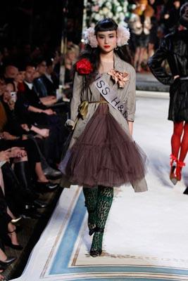 LANVIN X H&M FASHION SHOW:Asia Chow