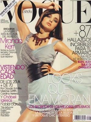 Vogue Spain September 2010 : Miranda Kerr