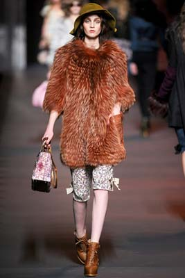 Christian Dior F/W 2011 - Maddie Kulicka