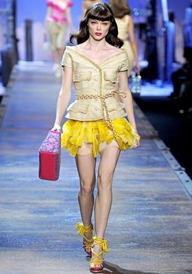 Christian Dior S/S 2011 : Coco Rocha