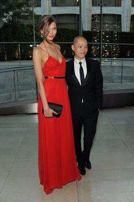 2011 CFDA Fashio Awards - Karlies Kloss & Jason Wu