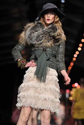 Christian Dior F/W 2011 - Alana Zimmer