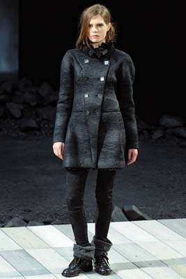 Chanel F/W 2011 - Caroline Brasch Nielsen