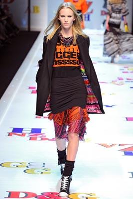 D&G F/W 2011 - Emily Baker