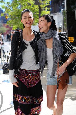 vogue.com - Liu Wen & Bonnie Chen