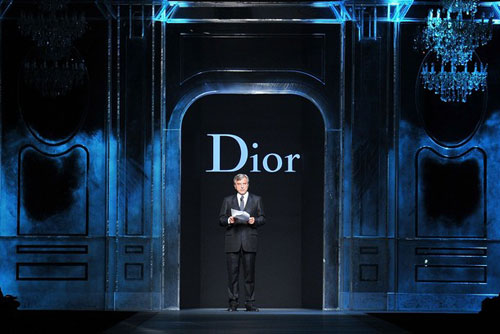 Christian Dior F/W 2011 - Dior CEO Sidney Toledano