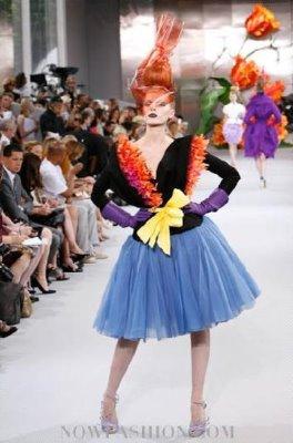 Christian Dior Haute Couture F/W 2010:Maryna Linchuk