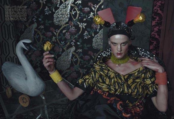 Vogue Italia March 2011 - Saskia de Brauw