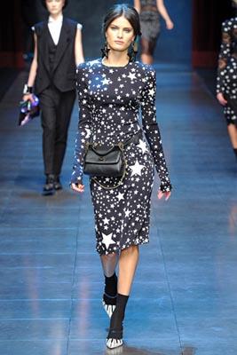 Dolce & Gabbana F/W 2011 -Isabeli Fontana